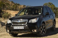 2014 Subaru Forester XT action