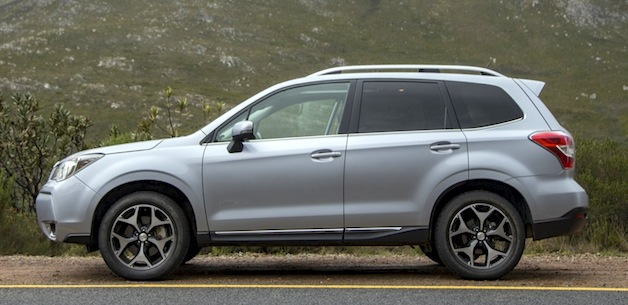 2014 Subaru Forester XT side profile