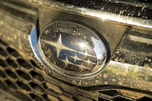 2014 Subaru Forester XT badge