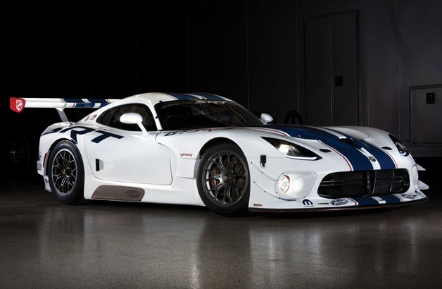 SRT Viper GT3-R race car - front three-quarter view
