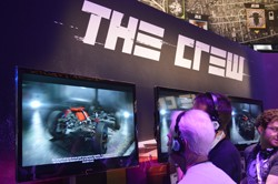 The Crew video game at E3