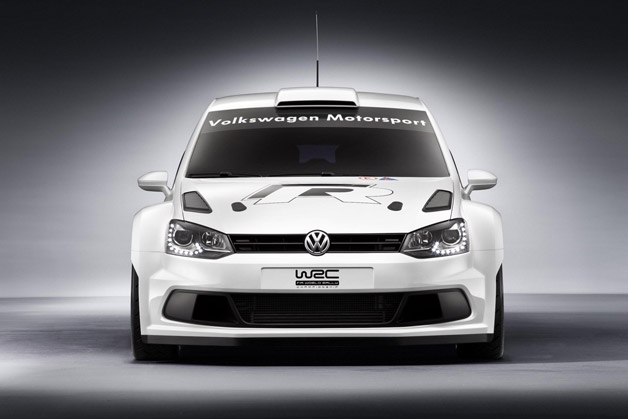 Volkswagen Polo R WRC - dead on front view