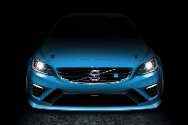 Volvo S60 Polestar V8 Supercars teaser - video screencap