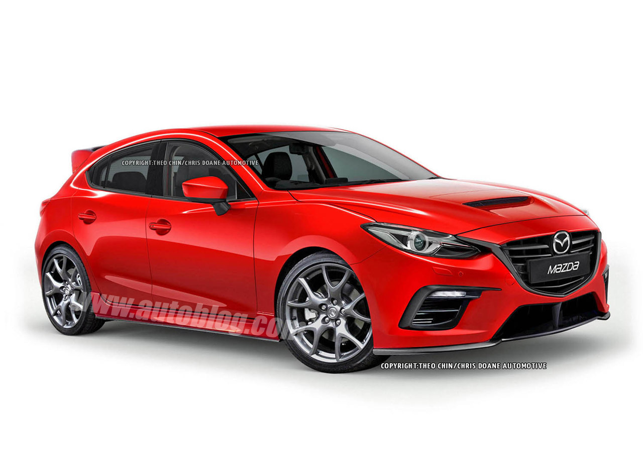 Mazdaspeed3 concept tipped for Frankfurt debut - Autoblog