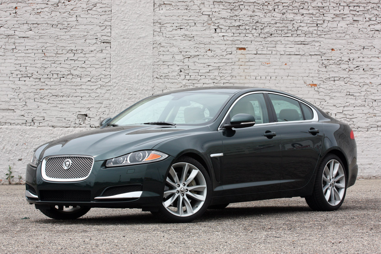 2012 jaguar xf supercharged 0 60