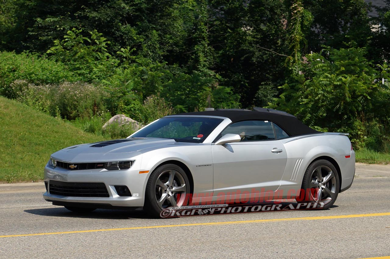 2014 chevy camaro ss convertible caught naked in the wild autoblog. Cars Review. Best American Auto & Cars Review