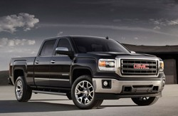 2014 GMC Sierra front three-quarter