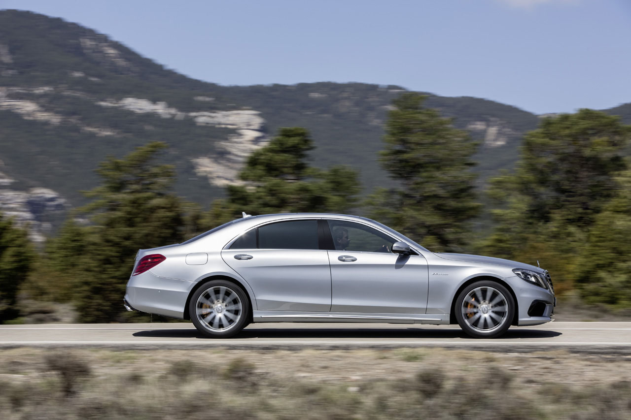 2014 mercedes benz s63 amg 4matic stuns with 577 hp 3 9 for Mercedes benz second