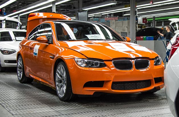 The final BMW M3 Coupe