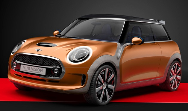 Mini Vision Concept front three-quarter