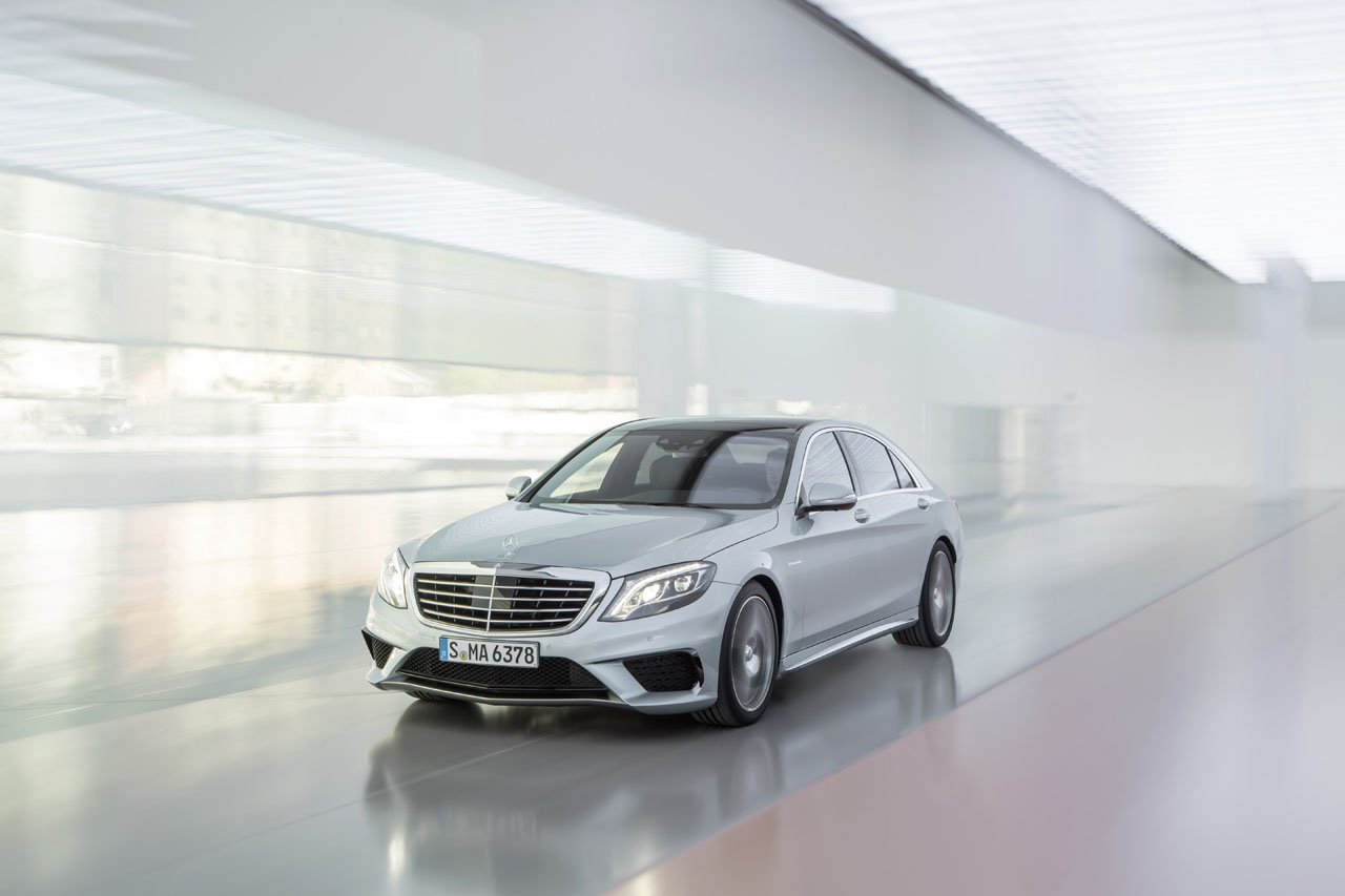 2014 mercedes benz s63 amg 4matic stuns with 577 hp 3 9 for 2013 mercedes benz s63 amg