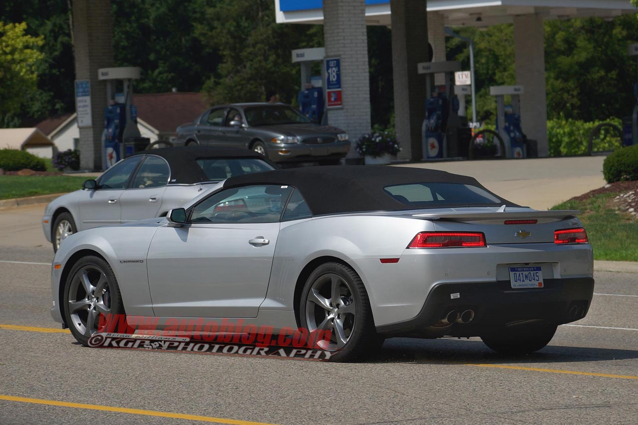 2014 Chevrolet Camaro Ss Convertible Spy Shots Photo
