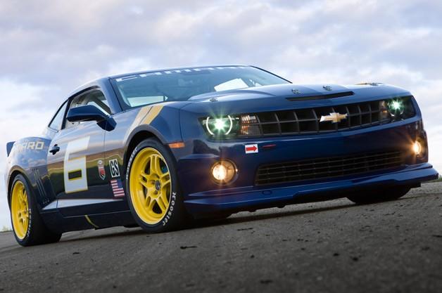 2010 Chevy Camaro GS Racecar Concept - front three-quarter view