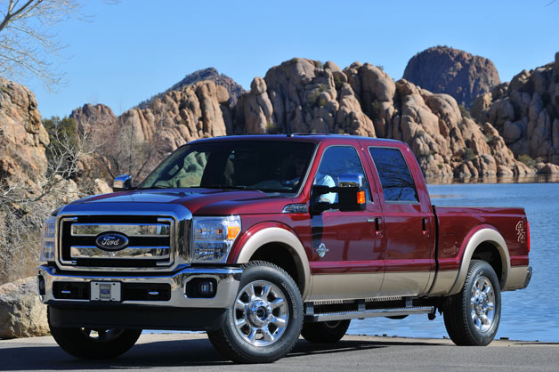 Ford F-250 - front three-quarter view