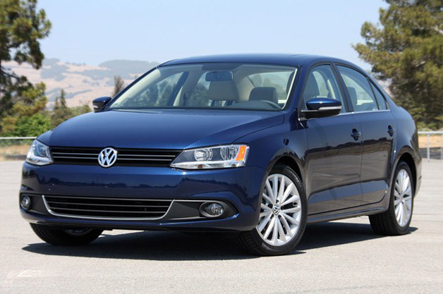 2011 Volkswagen Jetta - front three-quarter view