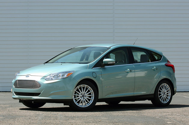 Ford Focus Electric - front three-quarter view