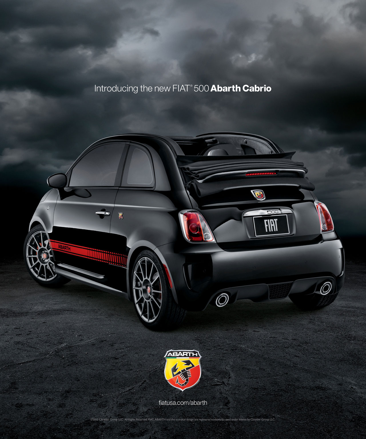 fiat 500 abarth made from models in body paint w video autoblog. Black Bedroom Furniture Sets. Home Design Ideas