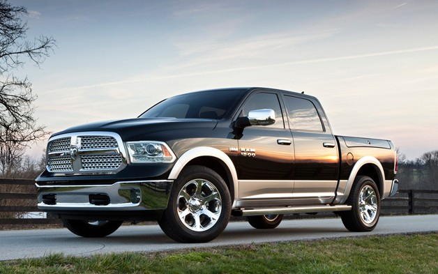 2013 Dodge Ram 1500 - front three-quarter view