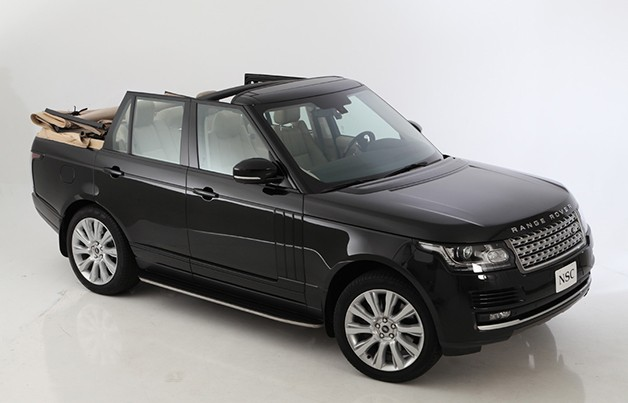 2013 Land Rover Range Rover convertible - front three-quarter view
