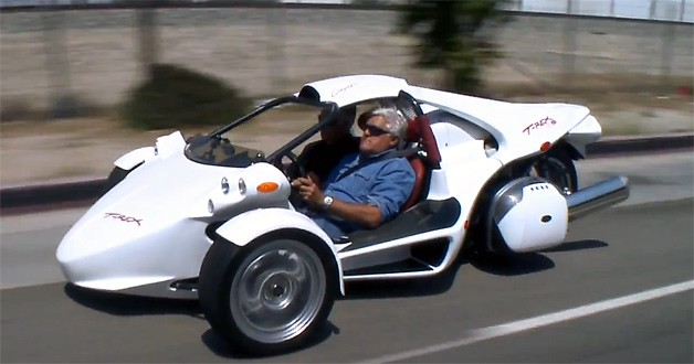 campagna t rex roars into jay leno 39 s garage oldjunkcar. Black Bedroom Furniture Sets. Home Design Ideas