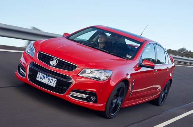 2014 Holden VF Commodore SS V Redline Front three-quarter