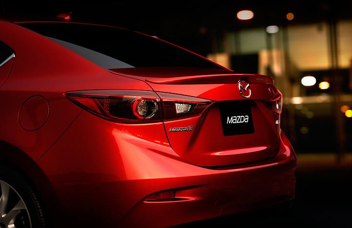 2014 Mazda3 sedan - alleged leaked trunk image