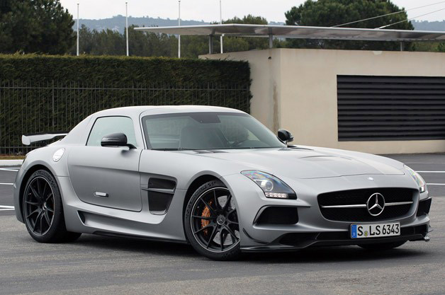 2014 Mercedes SLS AMG Black Series - front three-quarter view