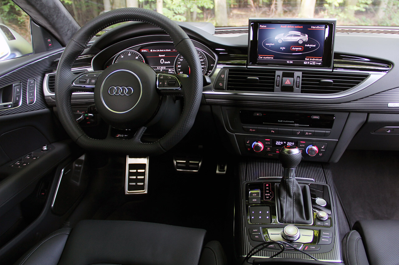 2014 Audi Rs7 Interior 2014 audi rs7: first drive