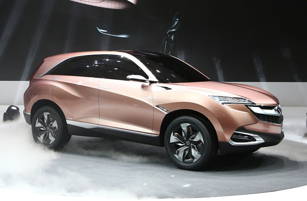 Acura SUV-X Concept live at 2013 Shanghai Motor Show