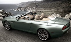 Zagato Aston Martin Centennial roadster concept - rear three-quarter view