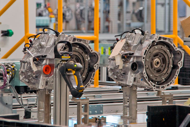 Dual-clutch transmissions in plant
