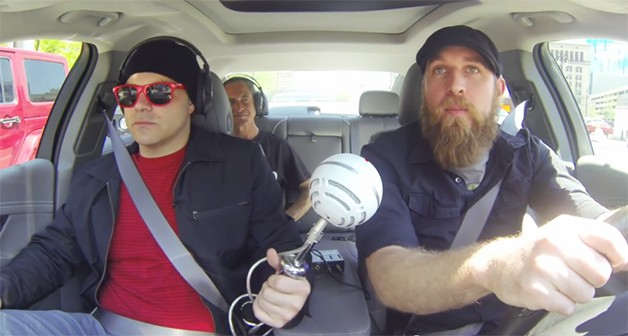 Detroit band Gentlemen Mutineers recording song inside a 2014 Chevy Impala - video screencap