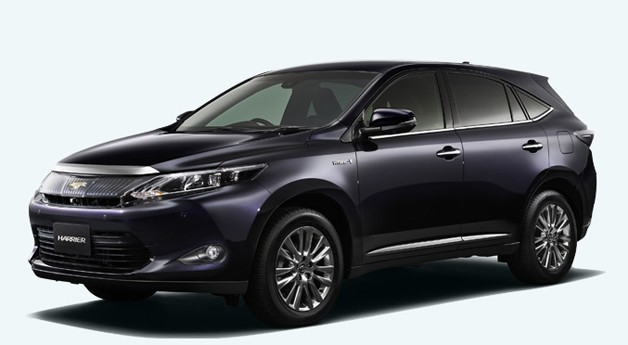 Next-Generation Toyota Harrier/Lexus RX front three-quarter