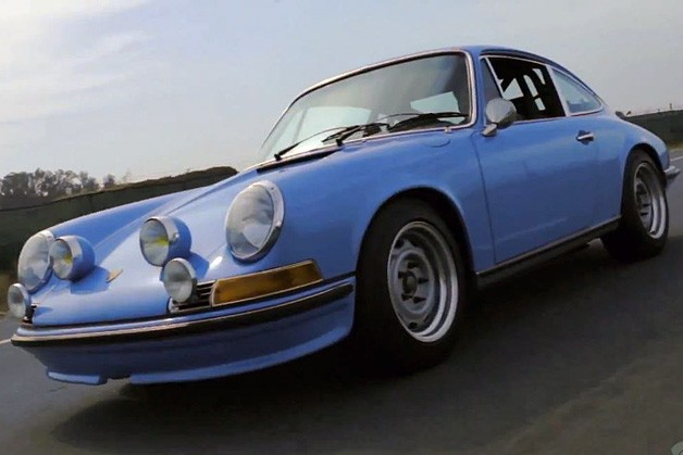 Restorer John Willhoit's Porsche 911 gets the Petrolicious video treatment - screencap