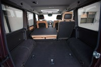 2013 Mercedes-Benz G550 rear cargo area