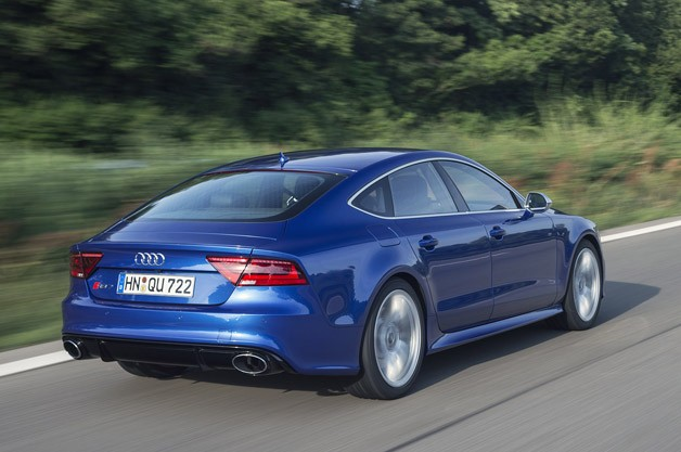 2014 Audi RS7 driving