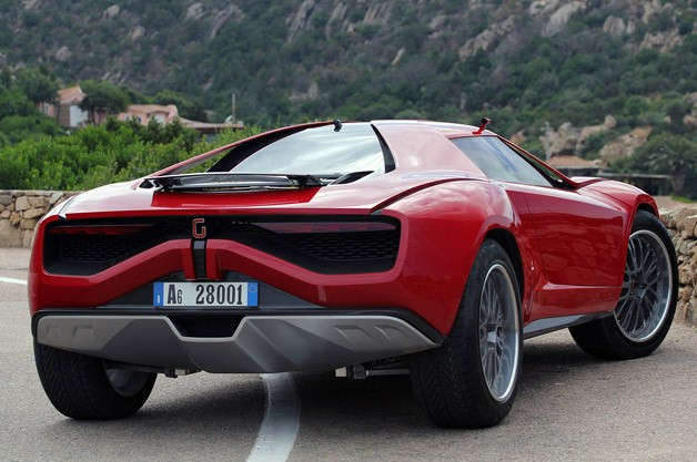 Italdesign Giugiaro Parcour Concept rear 3/4 view