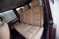 2013 Mercedes-Benz G550 rear seats