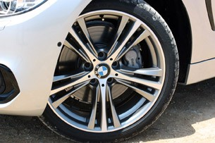 2014 BMW 4 Series wheel