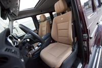 2013 Mercedes-Benz G550 front seats
