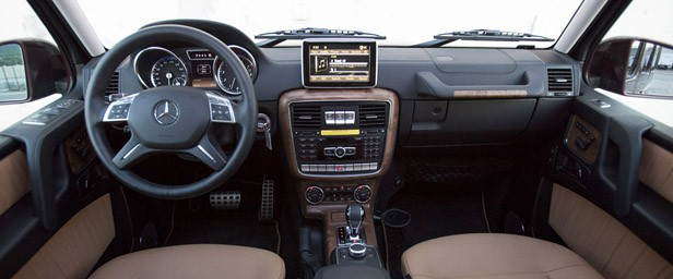 2013 Mercedes-Benz G550 interior