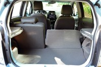 2014 Chevrolet Spark EV rear cargo area