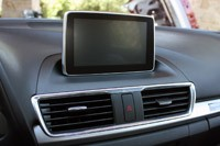 2014 Mazda3 infotainment system display