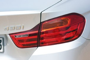 2014 BMW 4 Series taillight
