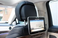 2014 Mercedes-Benz S-Class rear seat tv monitor