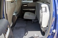 2014 Toyota Tundra folded rear seat