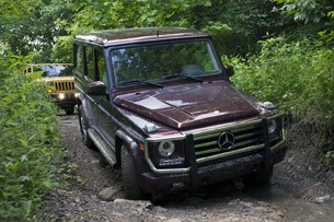 2013 Mercedes-Benz G550 off-road