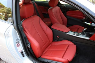 2014 BMW 4 Series front seats