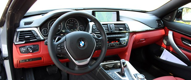 2014 BMW 4 Series interior
