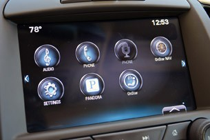 2014 Buick LaCrosse infotainment system